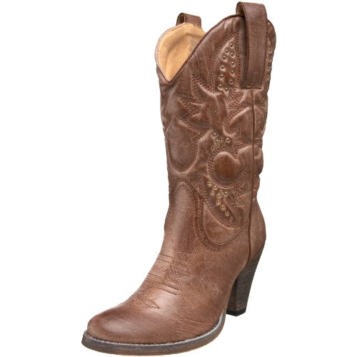 Volatile Women's Denver Boot,Tan,7.5 M US