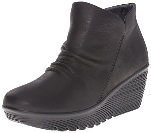 Skechers Women's Parallel Universe Chelsea Boot, Black, 8.5 M US