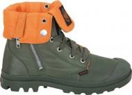 Palladium Women's Baggy Zip MA 1 Chukka Boot,Sage,9.5 M US