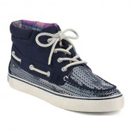Sperry Top-Sider Women's Betty Sequins,Navy Jersey/Sequins,US 5 M