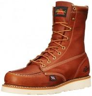 Thorogood American Heritage 8″ Moc Toe Boot, Tobacco Gladiator, 7 2E US