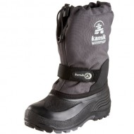 Kamik Waterbug 5 Cold Weather Boot (Toddler/Little Kid/Big Kid),Charcoal,3 M US Little Kid