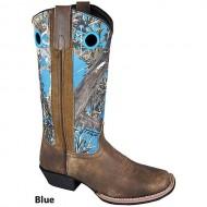 Smoky Mtn Ladies Tupelo Camo Sq Toe Boots 7.5 Ppl