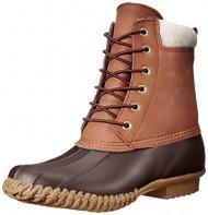 Tommy Hilfiger Women's Russel Rain Boot,Chestnut/Espresso Brown,8 M US