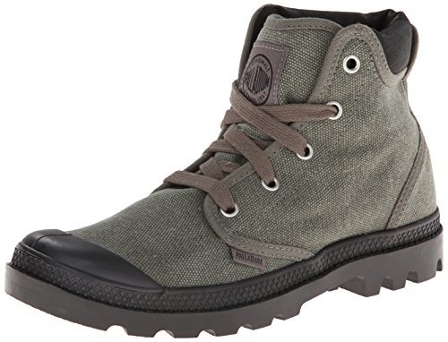 Palladium Women's Pampa High Cuff Chukka Boot,Stonewash Metal,9.5 M US