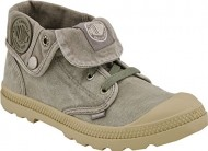 Palladium Women's Baggy Low Chukka Boot, Concrete, 8.5 M US