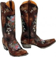Old Gringo Women's Ultra Vintage Bonnie Cowgirl Boot Chocolate US