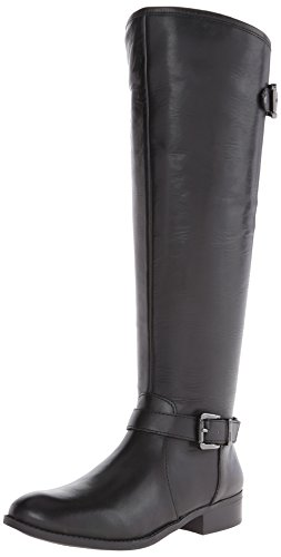 Jessica Simpson Women's Rinne Riding Boot,Black,8.5 M US