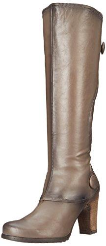 Miz Mooz Women's Nyla Riding Boot, Grey, 8 M US