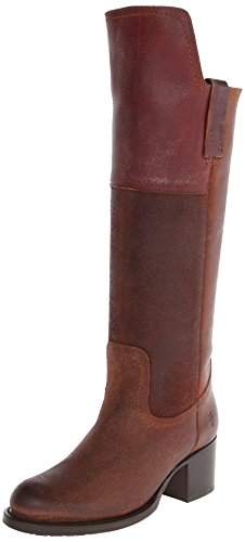 FRYE Women's Autumn Shield Tall Riding Boot, Redwood, 8.5 M US