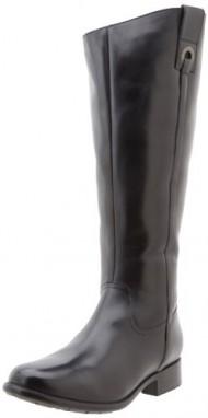 Clarks Plaza Beagle Womens Size 7 Black Fashion Knee-High Boots