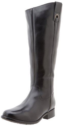 Clarks Plaza Beagle Womens Size 7 Black Fashion Knee-High Boots