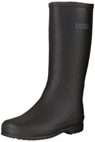 Tretorn Women's Kelly Rain Boot, Black, 42 M EU/11 M US