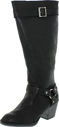 Rocket Dog Women's Sebastian Riding Boot Black 8.5 M