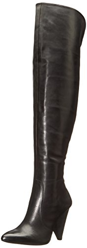 Vince Camuto Women's Hollie Slouch Boot, Black, 6.5 M US