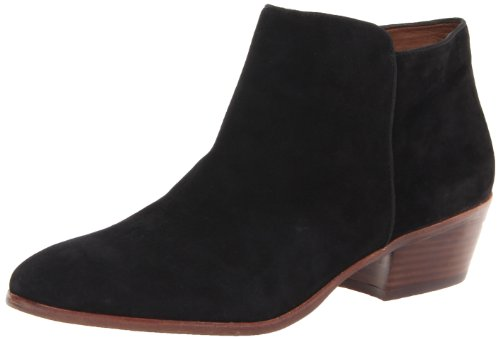 Sam Edelman Women's Petty Boot,Black Suede,10.5 M US