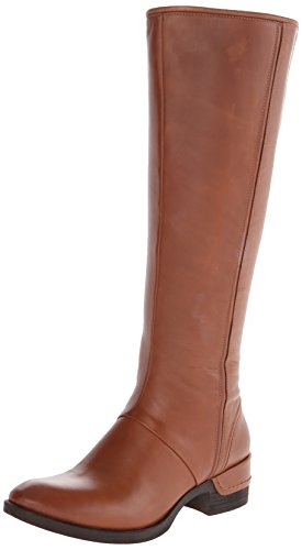 Kenneth Cole New York Women's Leighton Riding Boot, Cognac, 7.5 M US