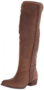 Naughty Monkey Women's Stolen Night Slouch Boot, Chocolate, 8 M US