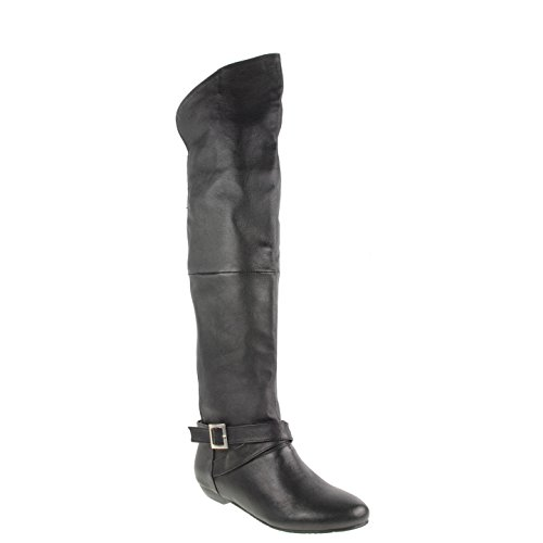 Chinese Laundry Women's Nostalgia Leather Knee-High Boot,Black,5.5 M US