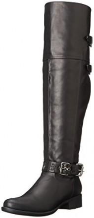 2 Lips Too Women's Too Jilt Riding Boot, Black, 7.5 M US