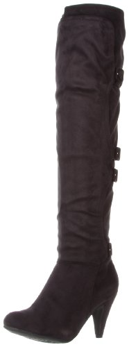 Not Rated Women's Warm Up Knee-High Boot,Black,6 M US