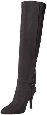 BCBGeneration Women's BG Eva Slouch Boot, Black, 6 M US