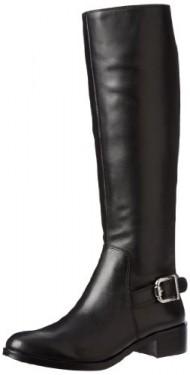 Vince Camuto Women's Volero Riding Boot,Black,10 M US