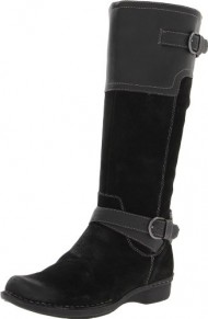 New Clarks Whistle Woven Black Ladies 8