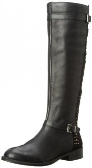 Jessica Simpson Women's JS-Ellister Harness Boot,Black,9.5 M US