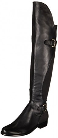 Corso Como Women's Splendid Riding Boot,Black,8.5 M US