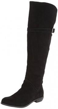 Very Volatile Women's Matton Riding Boot,Black,6 B US