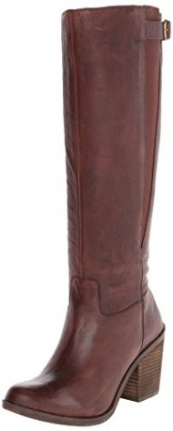Lucky Women's Orman Motorcycle Boot, Bourbon, 6.5 M US