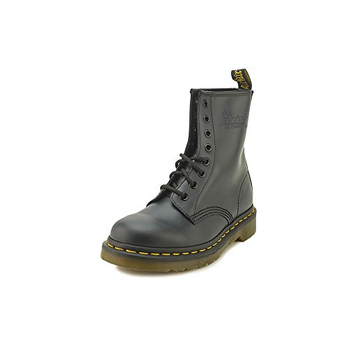 Dr. Martens 1460 Originals 8 Eye Lace Up Boot,Navy Smooth Leather,3 UK (4 M US Mens / 5 M US Womens)