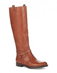 Enzo Angiolini Women's Edosa Riding Boot, Medium Brown, 8 M US