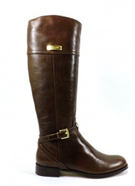 Coach Women's Micha Riding Boot (Chestnut, 10)