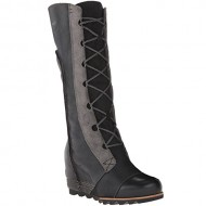 Sorel Women's Cate the Great Wedge Boots, Black, 6.5 B(M) US