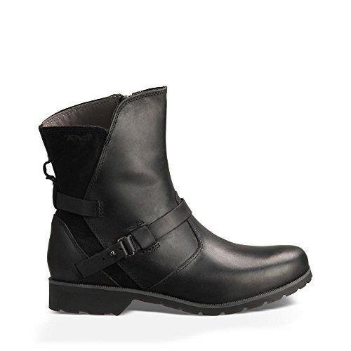 Teva Women's De La Vina Low Boot,Black,9 M US