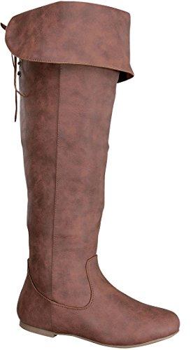 Top Guy Womens Over The Knee Thigh High Boots,9 B(M) US,Khaki-N5,5.5 B(M) US,Tan-N5.Tan-N5