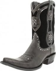 Ariat Women's Desperado Boot,Ash/Scale Black,8.5 M US