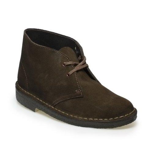 Clarks Desert Boot Brown Suede Women Ankle Boots-UK 7