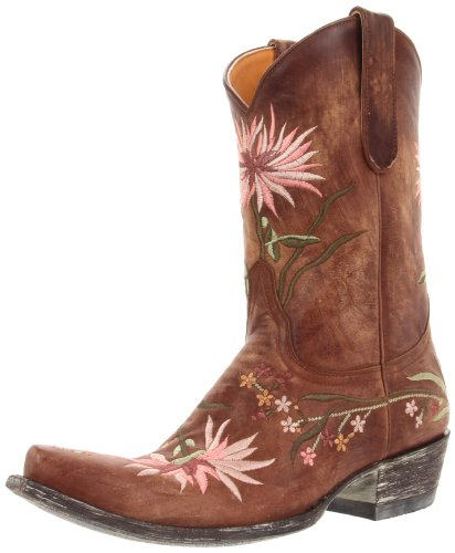 Old Gringo Women's Ellie Boot,Brass/Pink,8 B US