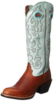 Tony Lama Women's RR2022L-Pronto Western Boot,Tawny,5.5 B US