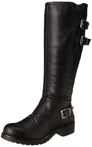 Fergalicious Women's Camber Western Boot,Black,8.5 M US