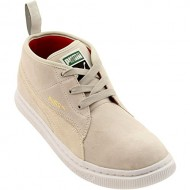 Puma Men's PUMA DR CLYDE DESERT BOOTS 9 (SILVER BIRCH/WHISPER WHITE)