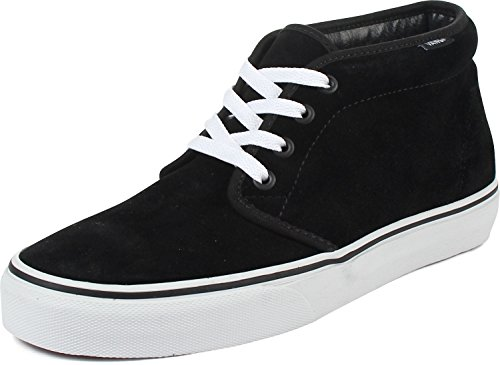 Vans Chukka Boot – Men's Black/White, Mens 6.0/Womens 7.5