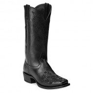 Ariat Women's Ardent Pull On Black Fashion Boot 8 B