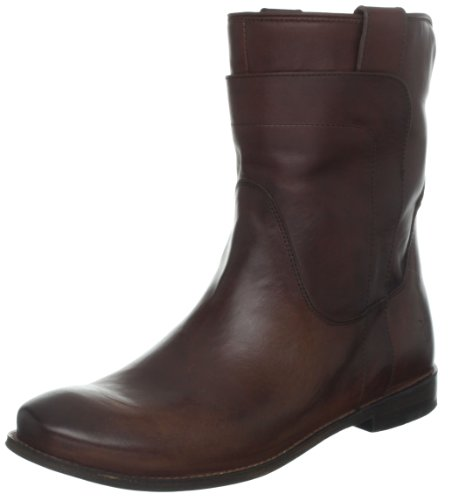 FRYE Women's Paige Short Riding Boot, Redwood Smooth Vintage Leather, 9.5 M US