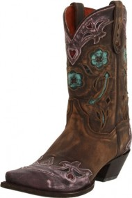 Dan Post Women's Vintage Arrow Western Boot,Vintage Pink,9 M US
