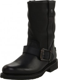 Harley-Davidson Women's Darice Work Boot, Black, 8 M US
