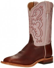 Tony Lama Women's Bison 7913L Western Boot,Pecan,7.5 B US